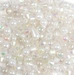 CF160 Beads: Plastic: Assorted: 30g